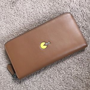 NWT Coach Limited Edition Pac Man Wallet